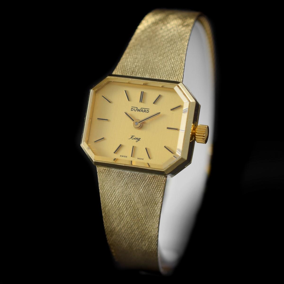 """Reloj Duward """"King"""" de Oro 18K"""