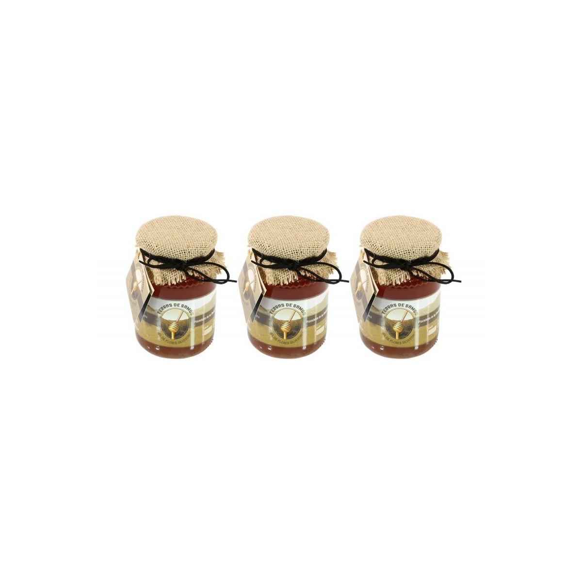 Pack 3 Botes de 500 gr. de Miel de orégano