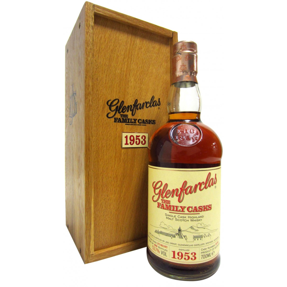 Glenfarclas The Family Casks 1953