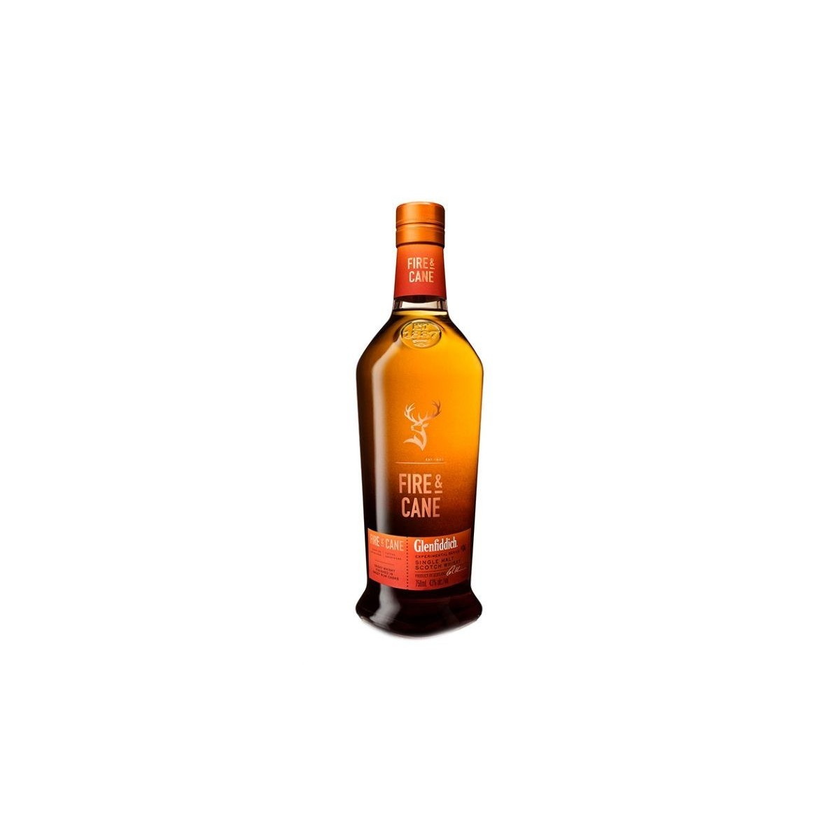 Whisky Glenfiddich Fire & Cane
